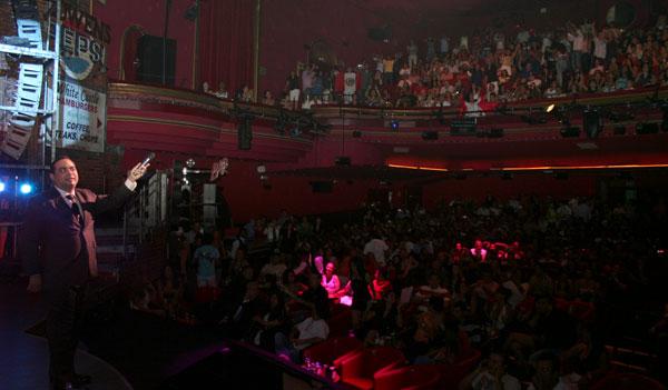 Gilberto santa rosa llen en madrid - Teatro coliseum madrid interior ...
