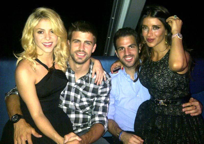 Shakira y piqu hacen oficial que esperan un hijo - Separacion sin hijos quien se queda en casa ...