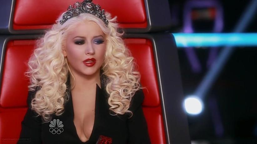 Cristina Aguilera defiende a Shakira como jurado de 'La Voz' Shakira