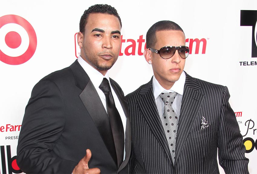 ¿Cuánto mide Daddy Yankee? - Real height Don-omar-y-daddy-yankee