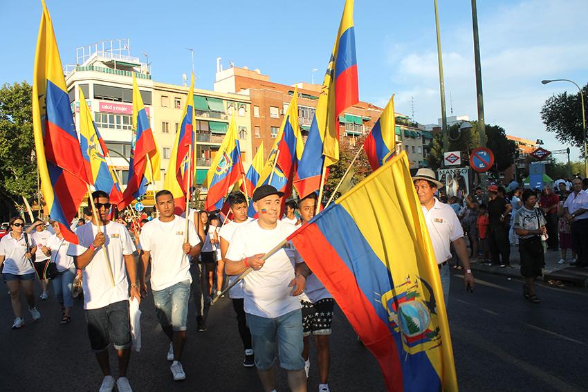 Ecuatorianosen madrid inmigrantes