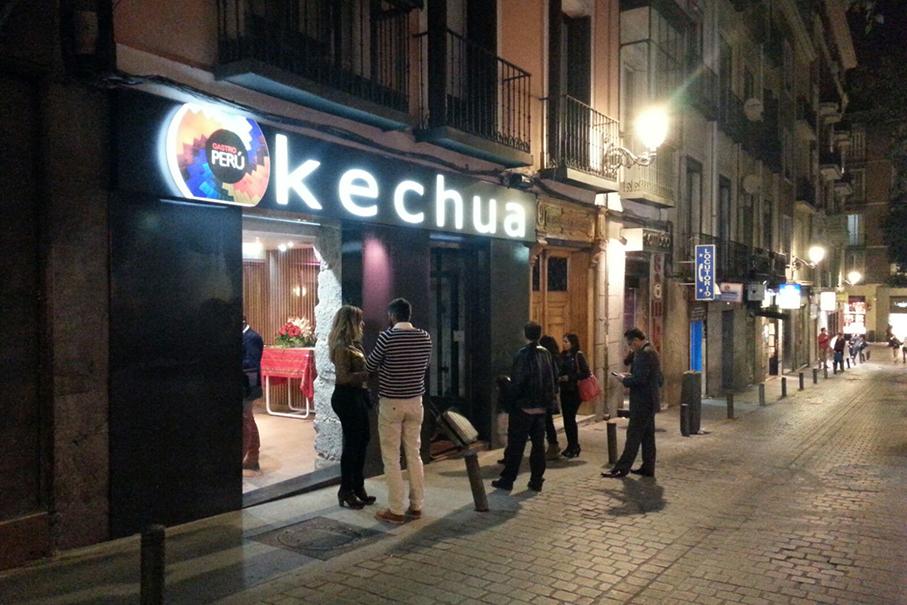 kechua gastrobar y restaurante peruano en madrid