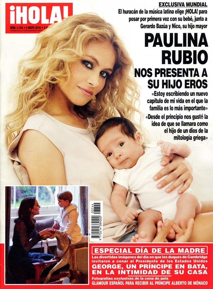 Pualina Rubio en ¡Hola!