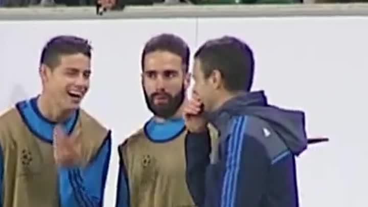 Florentino Pérez quiere a James fuera del Real Madrid