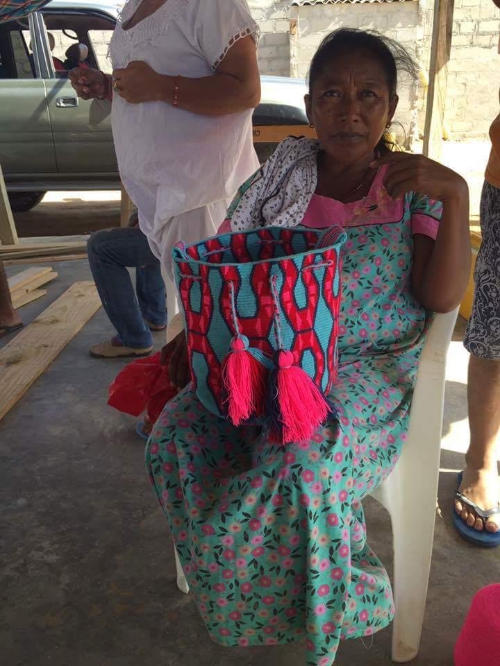 Las mochilas del dolor, las wayuu, de moda en España