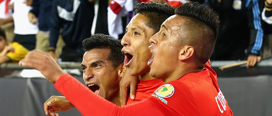 Perú eliminó a Brasil de la Copa América Centenario