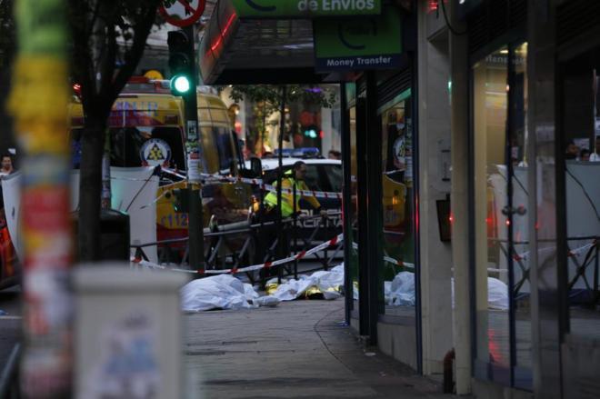 Asesinan a tres suramericanos en un bufete de abogados en Madrid