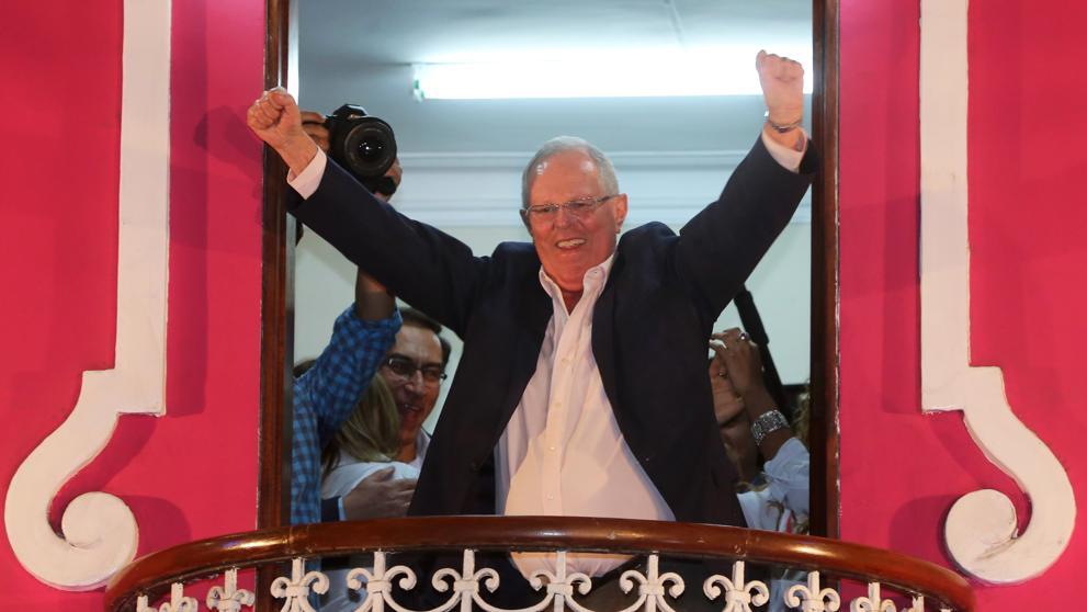 Pablo Kuczynski sería el virtual presidente de Perú