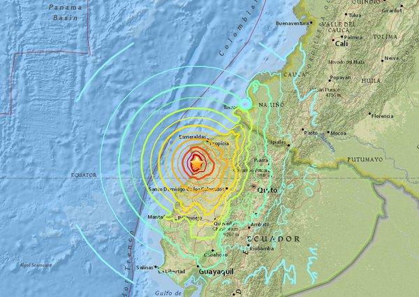 Miedo otra vez en Ecuador por temblores de tierra