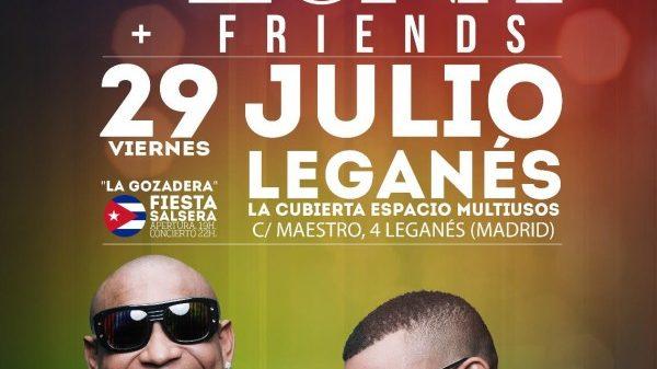 Cancelan concierto de Gente de Zona en Madrid