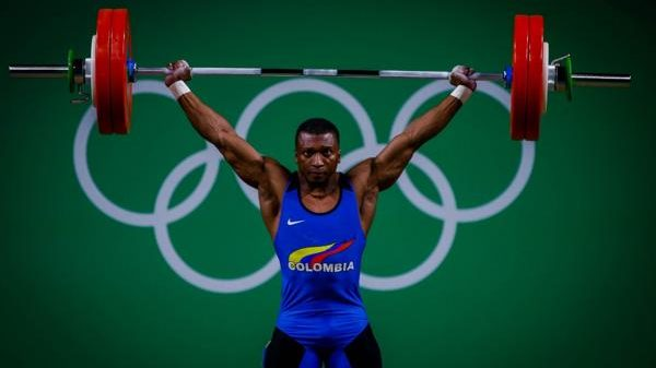 Colombia lloró al lado de Óscar Figueroa, medalla de oro en los Juegos Olímpicos