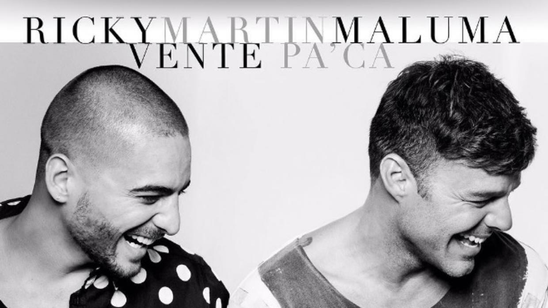 Ricky Martin y Maluma anunciaron su pelotazo 'Vente Pa Ca'