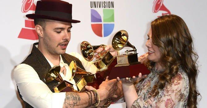 El colombiano Fonseca y los mexicanos Jesse & Joy los más nominados a los Grammy Latinos