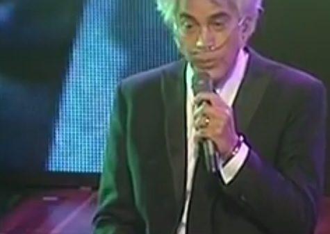 José Luis Rodríguez 'El Puma' cantó en Colombia con un tanque de oxígeno