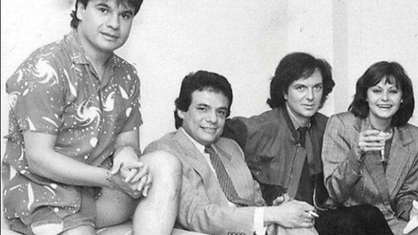 La imagen histórica de Juan Gabriel, José José, Rocío Durcal y Camilo Sesto