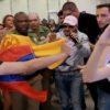 Maluma revolucionó Madrid con su llegada