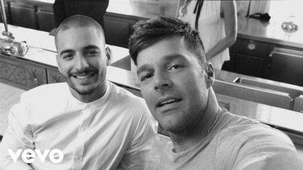 """Ricky Martin y Maluma lanzaron el vídeo de """"Vente pa' ca"""""""
