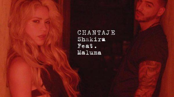 """Shakira eligió a Maluma para """"chantajearlo"""""""