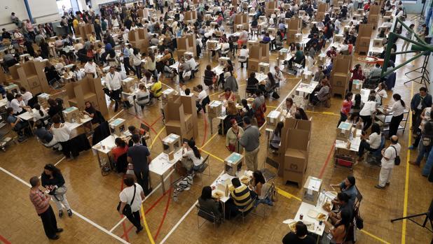 Pocos colombianos en España votaron en el plebiscito por la paz