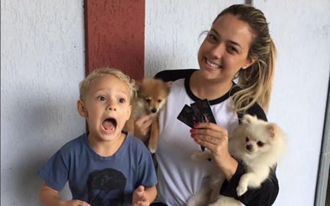 Esta es la madre del hijo de Neymar
