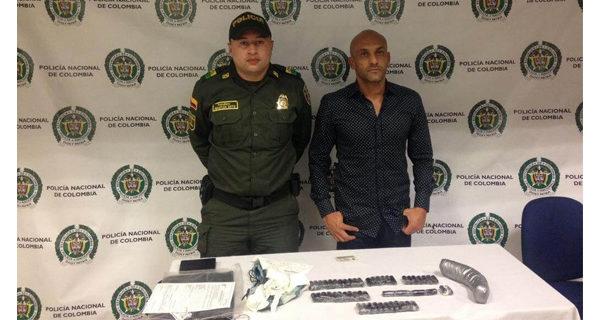 Ex futbolista colombiano venía a España con más de un kilo de cocaína