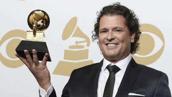 Carlos Vives pasó por alto a Shakira cuando recibió el Grammy