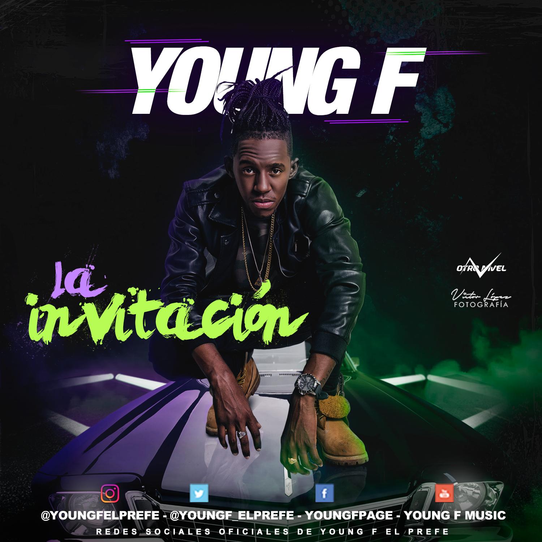 """Young F, el ídolo de la champeta, se estrena en España con """"La invitación"""""""