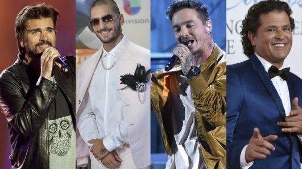 Los colombianos Juanes, J Balvin, Carlos Vives y Maluma, se toman los Premios 40 Principales