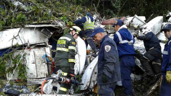Así están los sobreviviente del accidente aéreo del equipo de fútbol Chapecoense