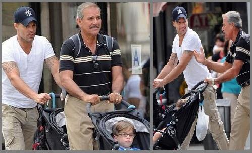 Padre de Ricky Martin sufre un derrame cerebral