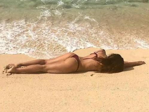 Daniela Ospina presume de trasero en Instagram