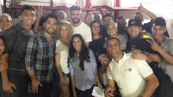 Shakira llevará a Piqué a comer arepa de huevo y butifarra