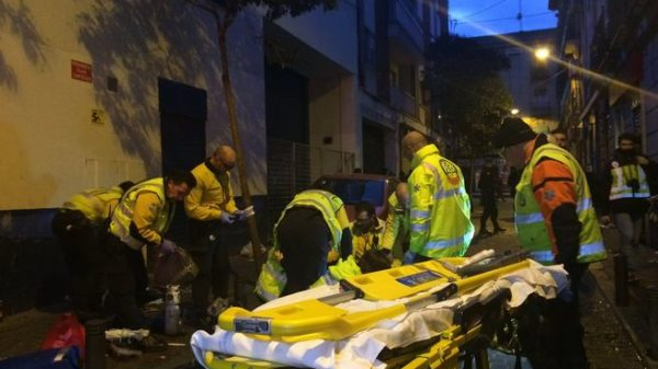 Asesinado un dominicano en la calle Topete de Madrid