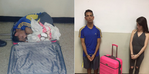 Quiso huir de una cárcel venezolana metido en una maleta