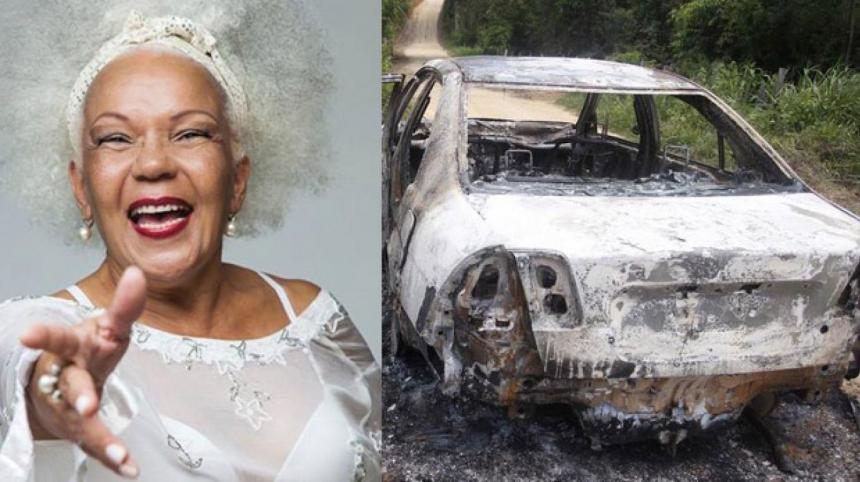 """A la cantante de la """"Lambada"""" la quemaron viva en su coche"""