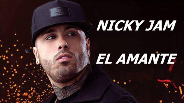 """Nicky Jam suena a lo mismo de siempre con su nuevo tema """"El amante"""""""
