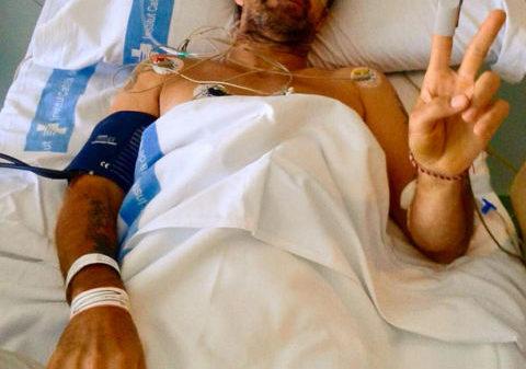 Pau Donés anunció en sus redes sociales que el cáncer volvió a su vida