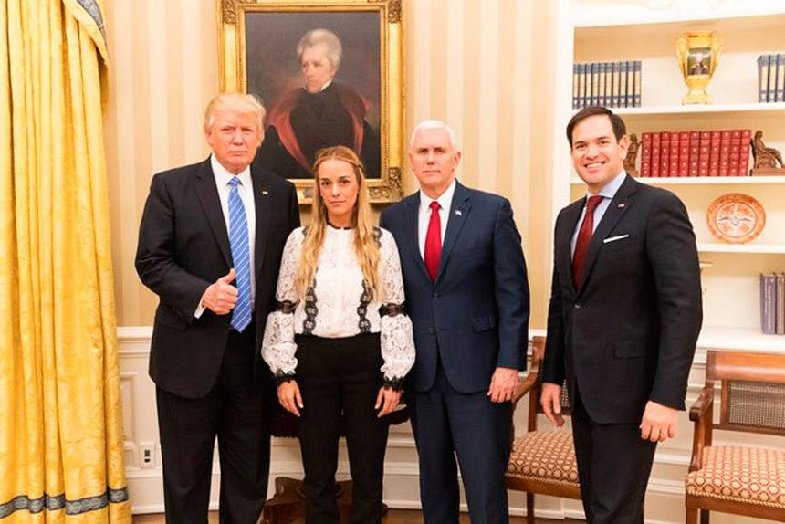 "Trump le envió un mensaje a Maduro: ""Libera inmediatamente a Leopoldo López"""