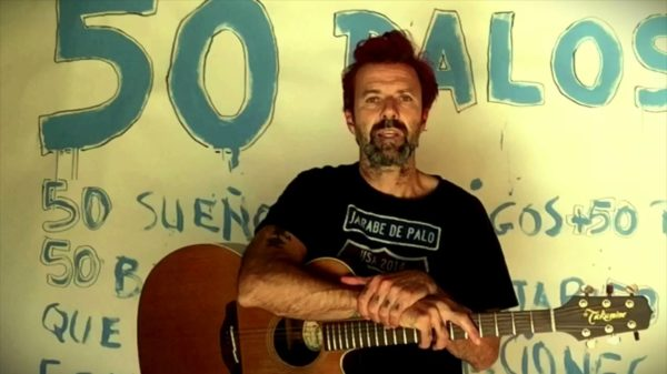 Pau Donés presentó '50 Palos', su nuevo disco