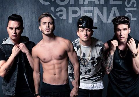 El grupo colombiano Piso 21 arrasa en las listas de streaming y canciones de España