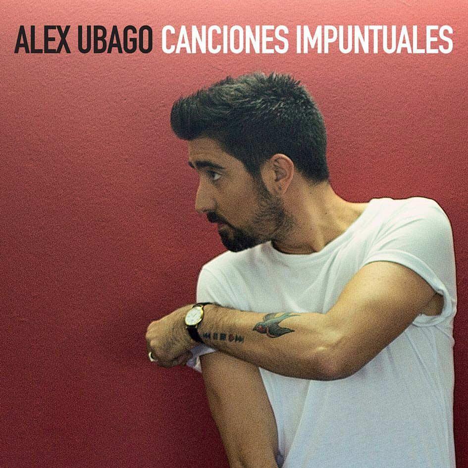 """Álex Ubago desvela la portada de su nuevo álbum """"Canciones impuntuales"""""""
