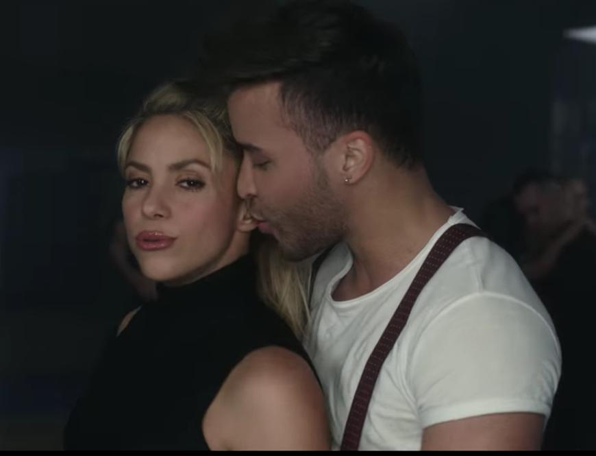 Shakira y Prince Royce derrochan sensualidad en el vídeo de 'Deja Vu'