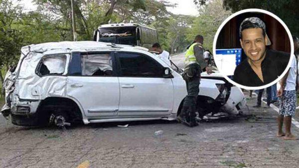 Martín Elías en el momento del accidente no llevaba el cinturón de seguridad