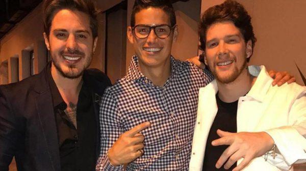 Por posar con Piso 21 James Rodríguezha creado un importante revuelo en el entorno del Real Madrid