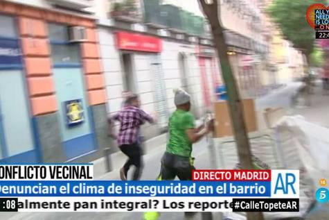 Medios españoles muestran a la calle de Topete como el lugar más peligroso de Madrid
