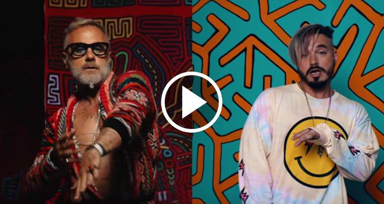 Gianluca Vacchi también se la vacila en el nuevo vídeo de J Balvin