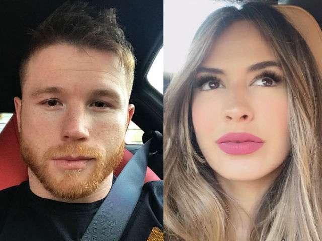 Shannon de Lima y el boxeador mexicano Canelo Álvarez son novios