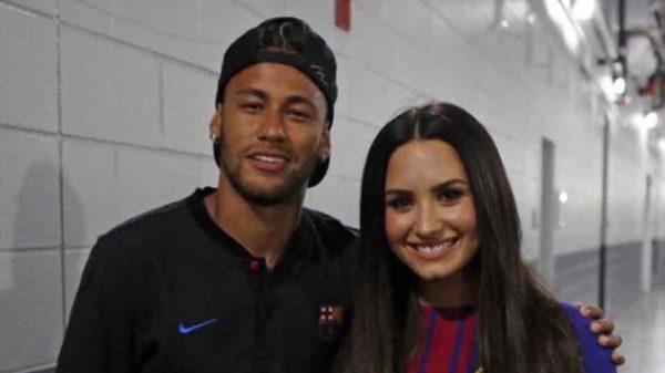 Neymar y Demi Lovato: ¿una posible relación?