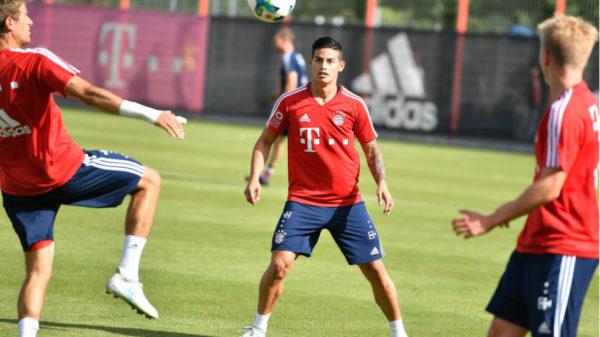 James Rodríguez recuperó la sonrisa en el Bayern de Múnich