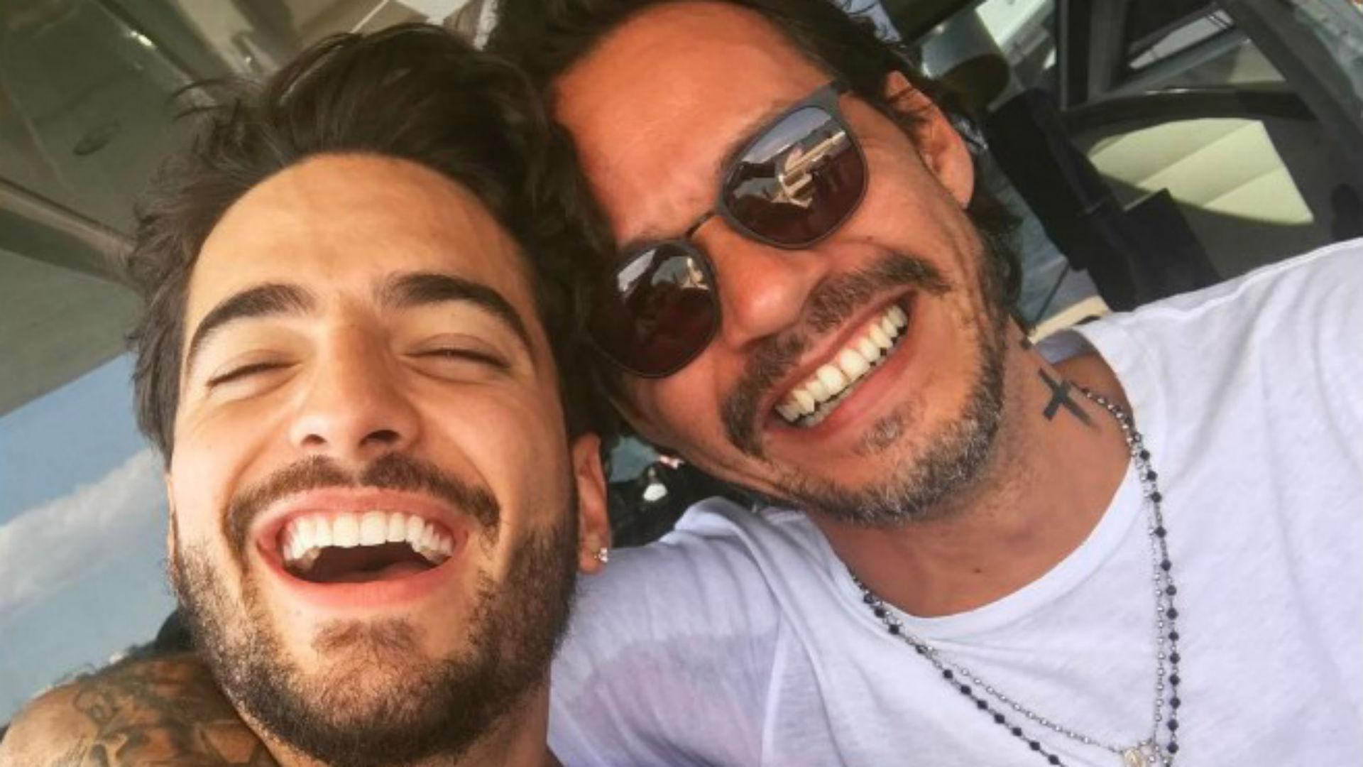 """Maluma y Marc Anthony estrenaron el vídeo de """"Felices los 4"""" en versión salsa"""